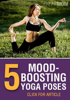Yoga provides the combination of strengthening exercises and mental clarity. Find out how to boost your mood with these poses!