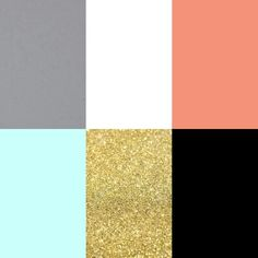 Pink Black Gold Color Palette | Color Inspiration | Design Ideas