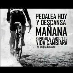 frases motivadoras de ciclismo - Buscar con Google                                                                                                                                                     Más