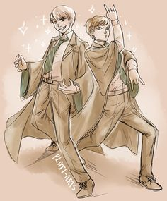I absolutely LOVE Albus and Scorpius's dorky dynamic, but I'm not in the Scorbus... is that so wrong?? Lol