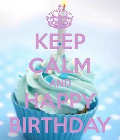 Keep Calm Blue