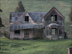 casas antiguas de madera en el campo - Buscar con Google