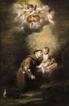 San Antonio de Padua y el Niño