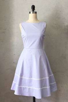 30$ shipped Coquette Dress in Lavender  LARGE (runs on the larger side, maybe a 14?) - Fleet Collection