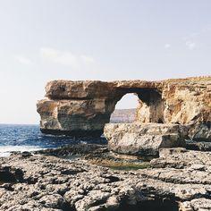 I think I'm in love with Malta. 😍 #azurewindow #gozo #malta #breathtaking #vsco