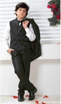 Buy Black Solid Imported Weddingwear Coat Pant online in India at best price. Kids Party Wear Boys, Kids Wear Online, Garba Dress, Indowestern Gowns, Blazer For Boys, Valentines Day Dresses, Kids Lehenga, Lehenga Online, Boys Suits