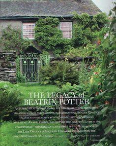 Beatrix Potter - http://www.literarytraveler.com/articles/beatrix-potter-lake-district/