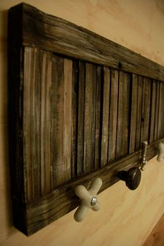 Barn Wood coat rack Primitive coat by LynxCreekDesigns on Etsy, $99.99
