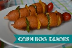 Ad: Country Ribbon Corn Dogs Kabobs Recipe #GetCorny - Thrifty Jinxy