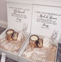 kis·met /ˈkizmit,ˈkizˌmet/ noun destiny; fate. how do you know wh… #romance #Romance #amreading #books #wattpad Bridesmaid Thank You, Bridesmaid Gift Boxes, Asking Bridesmaids, Bridesmaid Proposal Box, Bridesmaids And Groomsmen, Bridesmaid Invitations, Wedding Gifts For Bride And Groom, Gifts For Wedding Party, Bride Gifts