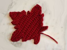 **THIS LISTING IS FOR THE PATTERN ONLY**    This pattern makes a maple leaf!    The Maple Leaf Pattern is also available at a discount as part of the