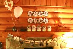 Lots of cute ideas for a Cowgirl baby shower :)