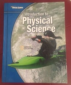 Introduction to Physical Science Glencoe Science McGraw-Hill National Geographic in Books, Textbooks, Education | eBay