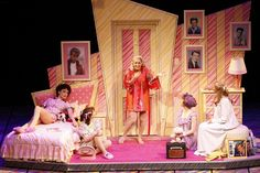 grease stage backdrops - Google Search
