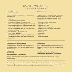 Weddings at Leeds Castle in Kent