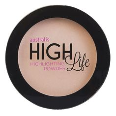 Australis Highlife Highlighting Powder g - My FAVE priceline highlighter! Makeup Tips, Beauty Makeup, Face Makeup, Banana Powder, Powder Contour, Vegan Makeup, Cruelty Free Makeup, Vegan Beauty, Contouring And Highlighting