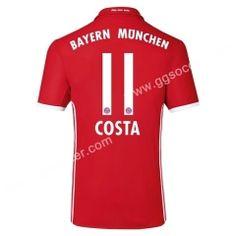 2016/17 Bayern München COSTA Home Red Thailand Soccer Jersey