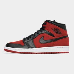 the best attitude 6aaa9 00e15 Air Jordan 1 Mid Red Black White. Brand new to Culture Kings ...