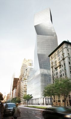 425 Park Avenue: OMA's proposal