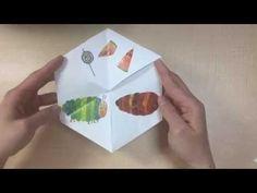 【工作】昔からあるからくりおもちゃ六角返し - YouTube