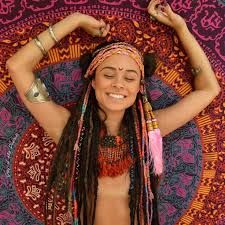 randění s hippie dívkou