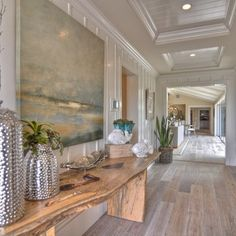 Bleached out beach interior design | BLEACHED WHITE WOOD FLOOR Design, Pictures, Remodel, Decor and Ideas