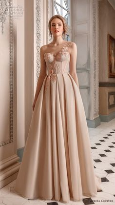 featuring - aurora couture 2019 bridal one shoulder sweetheart neckline lightly embellished bodice bustier simple a line wedding dress sweep train 6 mv - Aurora Couture 2019 Wedding Dresses Ball Dresses, Ball Gowns, Evening Dresses, Prom Dresses, Formal Dresses, Tea Length Dresses, Bridal Dresses, Elegant Dresses, Pretty Dresses
