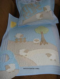 Quilt inspiration for baby/toddler bedding