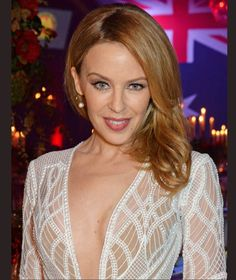 Kylie Minogue is awarded Australian of the Year in the UK at Quantas Australia Day Gala Dinner
