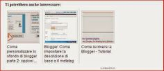 I love blogger tutorial : Linkwithin non funziona: ecco come fare in 2 steps...