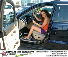 Thank you to Artan Krasniqi on the 2014 Jeep Grand Cherokee from David Walls and everyone at Dodge City of McKinney!