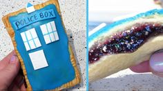 Doctor Who TARDIS Pop-Tarts with Holographic Galaxy Filling Recipe | Cup...