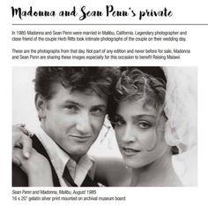 Madonna and Sean Penn 1985