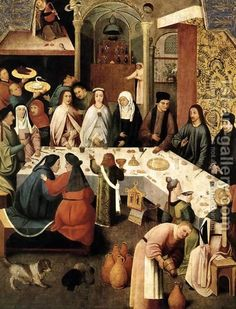 Hieronymous Bosch:Marriage Feast at Cana
