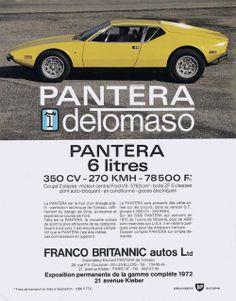 De Tomaso Pantera - 1972