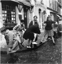 Children at Montmartre - Paris  1950s - Denise Colomb