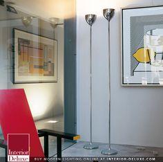 Drink Floor Lamp - Rotaliana  Shop Online http://www.interior-deluxe.com/drink-floor-lamp-by-rotaliana-p1378.html  #ModernLighting #InteriorDesign #Rotaliana