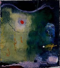 Helen Frankenthaler ~ The Other Side of the Moon, 1995 (acrylic on paper)