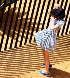 Vêtement enfants, sous vêtements, collection femme et homme - Petit Bateau - dress stripes