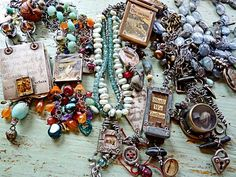 More work by Nina Bagley.  I cannot possibly pin all her wonders.  Go see her blog. You will drool.