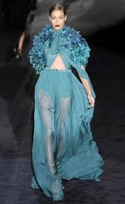 Image result for images of cat walk fashion in blue