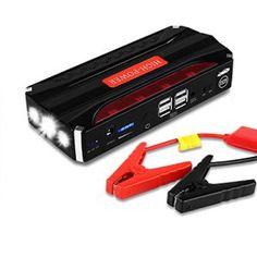 Chargeur Démarreur Voiture, Yokkao® 16800mah Batterie Portable Universel Automobileavec 4 USB Ports pour Voiture, Moto, Appareil…