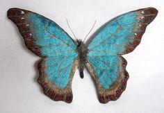 Les papillons brodés de YUMI
