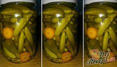 Recept Nakládané okurky ve sladkokyselém nálevu Thing 1, Pickles, Cucumber, Baking, Food, Bakken, Essen, Meals, Pickle