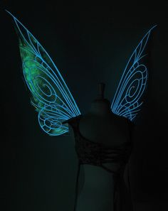 Glow in the dark faery wings!