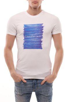 Calvin Klein Brushstrokes Print Tee S$39.90