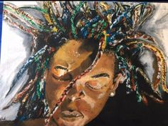 Mixed media by Tebogo Kobola Alter Ego, Mixed Media, Paintings, Art, Art Background, Paint, Painting Art, Kunst, Performing Arts