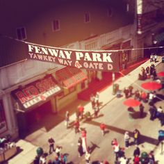 Fenway Park - Get to mark this one off the bucket list! Got to watch the biggest rivals in baseball - Yankess VS The Red Sox!