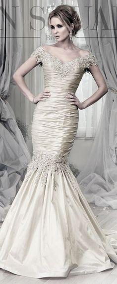 Brunai Platinum Ian Stuart Wedding dress