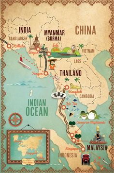 Alexandre Verhille - Across the Planet : Stage 3 ( Myanmar to Singapore) Last part from the extraordinary trip of Maureen and Tony Wheeler ( co-founders of Lonely Planet ) #southeastasiatravel